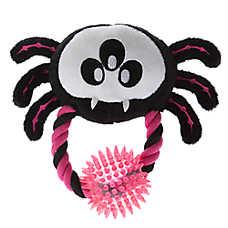 Thrills & Chills™ Pet Halloween Spiky Ball Spider Dog Toy