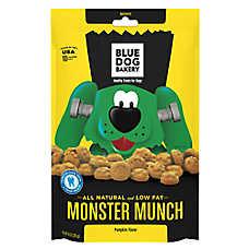 Blue Dog Bakery Monster Munch Dog Treat - Natural, Pumpkin