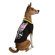 Thrills & Chills™ Pet Halloween Skeleton Dog T-Shirt