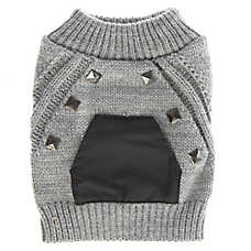 Top Paw® Stud Pocket Dog Sweater