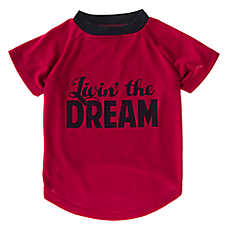 "Grreat Choice® ""Livin'The Dream"" Dog T-Shirt"