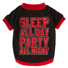 "Grreat Choice® ""Sleep All Day Party All Night"" Tee"