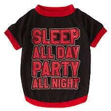 """Grreat Choice® """"Sleep All Day Party All Night"""" Tee"""