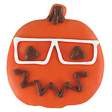 Thrills & Chills™ Pet Halloween Hipster Pumpkin Dog Treat