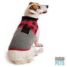 Martha Stewart Pets® Buffalo Checker Barn Coat