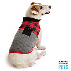 Martha Stewart Pets® Buffalo Checker Barn Coat