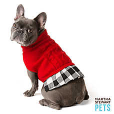 Martha Stewart Pets® Red Buffalo Checker Dress