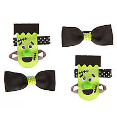 Thrills & Chills™ Pet Halloween™ Frankenstein Hair Bows