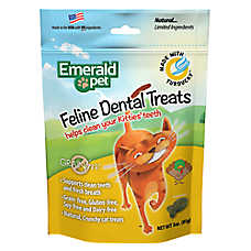 Smart n' Tasty Dental Cat Treat - Natural, Grain Free, Turducky