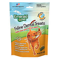 Smart n' Tasty Dental Cat Treat - Natural, Grain Free, Chicken