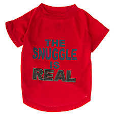 "Grreat Choice® ""The Snuggle Is Real"" Dog T-Shirt"