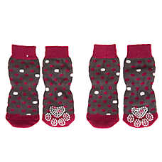 Grreat Choice® Pink Dot Socks