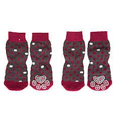 Grreat Choice® Pink Dot Socks
