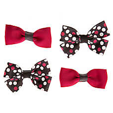Grreat Choice® Dot & Solid Hair Bows