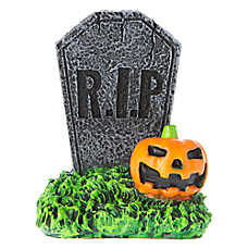 Top Fin® Pet Halloween Gravestone Aquarium Ornament