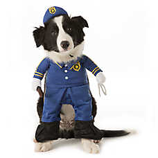 Thrills & Chills™ Pet Halloween Stand Up Police Pet Costume