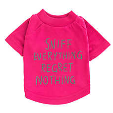 "Grreat Choice® ""Sniff Everything Regret Nothing"" Tee"
