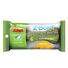 Zuke's® ZBone Dontal Dog Chew - Natural, Grain Free, Apple
