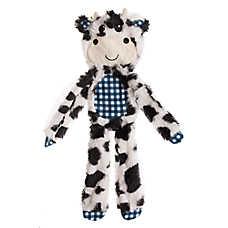 Top Paw® Flattie Cow Dog Toy