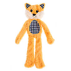 Top Paw® Flattie Fox Dog Toy