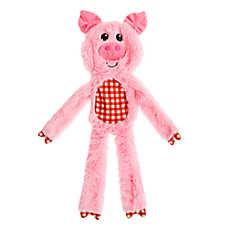 Top Paw® Flattie Pig Dog Toy