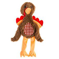 Top Paw® Flattie Turkey Dog Toy