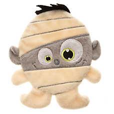 Thrills & Chills™ Pet Halloween Villains Flattie Mummy Dog Toy