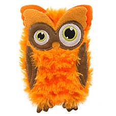 Thrills & Chills™ Pet Halloween Villains Flattie Owl Dog Toy
