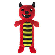 Thrills & Chills™ Pet Halloween Devil Long Body Dog Toy