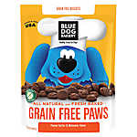Blue Dog Bakery Grain Free Paws Dog Treat - Natural, Peanut Butter
