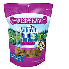 Natural Balance Limited Ingredient Dog Treat - Natural, Grain Free, Sweet Potato & Venison