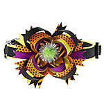 Thrills & Chills™ Pet Halloween Pom Bow Adjustable Dog Collar