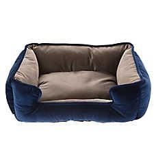 Top Paw® Velvet Cuddler Dog Bed