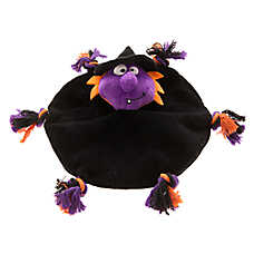 KONG® Pet Halloween Witch Knot Flyer Dog Toy