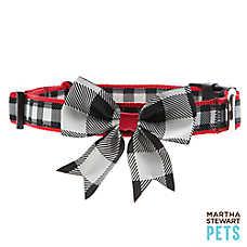 Martha Stewart Pets® Buffalo Checker Dog Collar