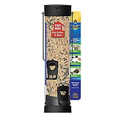Stokes Select® More Birds SureFill Small Plastic Tube Feeder