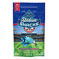 BLUE™ Stadium Snacks Touchdown Treats Dog Treat - Natural