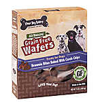 Three Dog Bakery Wafers Brownie Bites Dog Treat - Natural, Grain Free