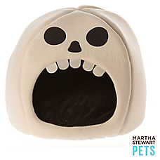 Martha Stewart Pets® Pet Halloween Skull Dog Bed