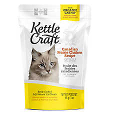 Kettle Craft Cat Treat - Natural, Canadian Prairie Chicken Recipe