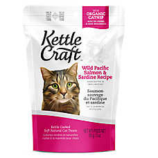 Kettle Craft Cat Treat - Natural, Salmon & Sardine