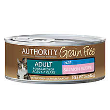 Authority® Grain Free Adult Cat Food - Salmon