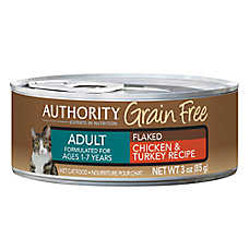 Authority® Grain Free Adult Cat Food - Chicken & Turkey