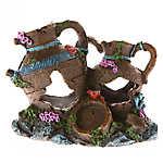 Top Fin® Sunken Jugs Aquarium Ornament