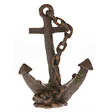 Top Fin® Sunken Anchor Aquarium Ornament