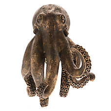 Top Fin® Gold Octopus Aqaurium Ornament