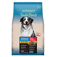 Authority® Tender Blends Adult Dog Food - Beef & Rice