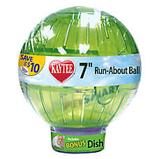 KAYTEE® Run-About Ball with Bonus Bowl