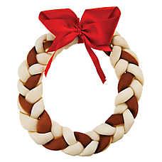 Pet Holiday™ Dentley's® Festive Holiday Rawhide Wreath Dog Treat