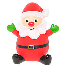 Pet Holiday™ Santa Vinyl Dog Toy